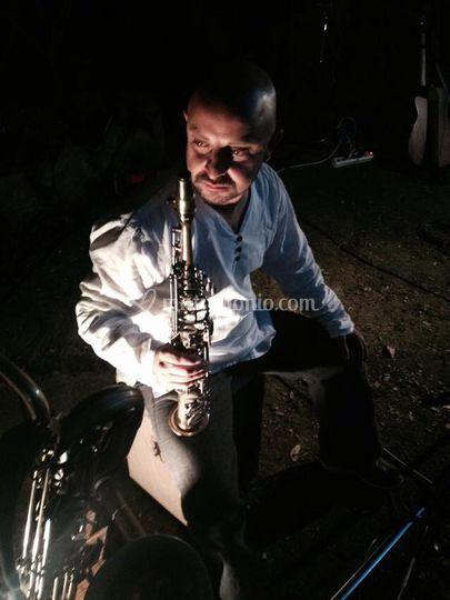 Max Valentini- Sax&Percussion
