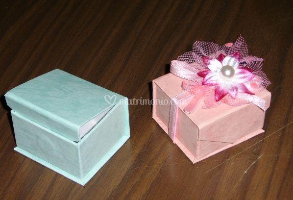 Bomboniere scatolina con confetti