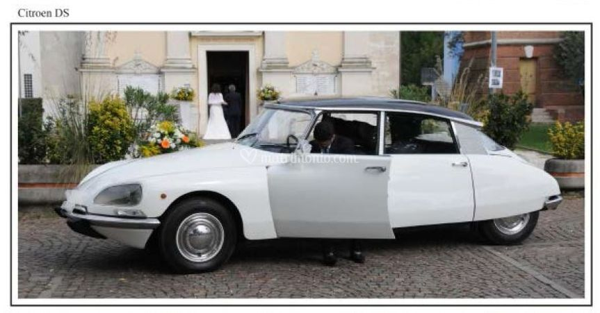 Citroen DS  Matrimonio