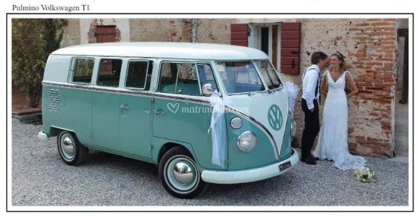 Pulmino Vw Matrimonio