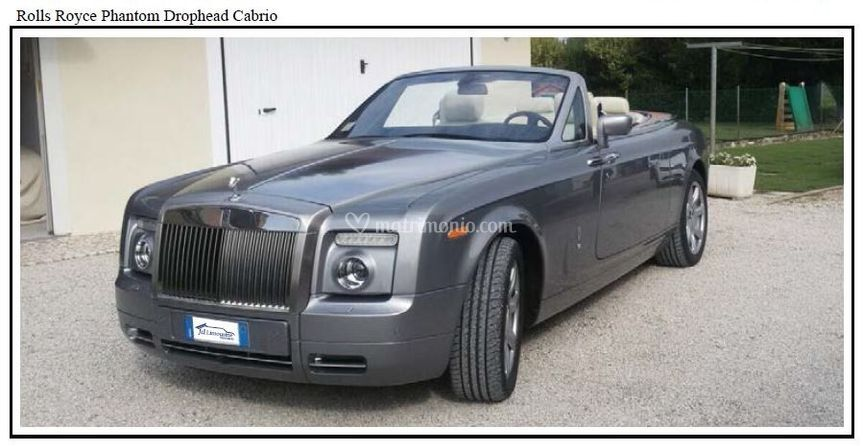 Bentley Cabrio Matrimonio