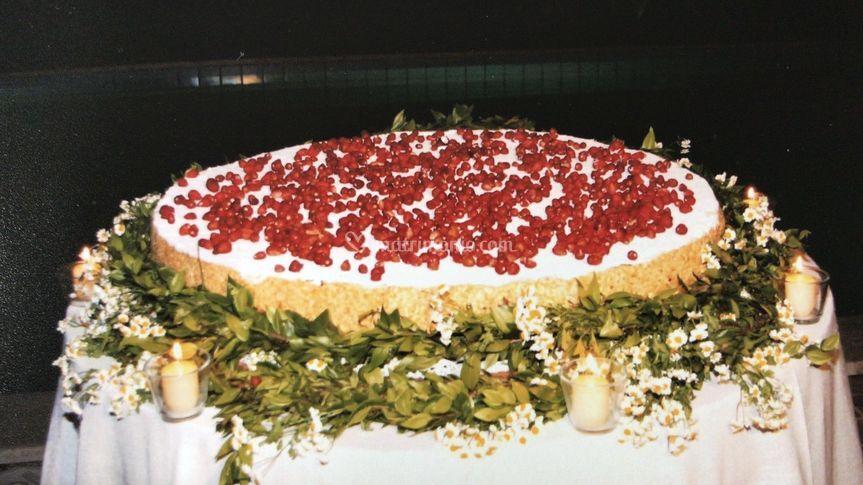 La super torta nuziale