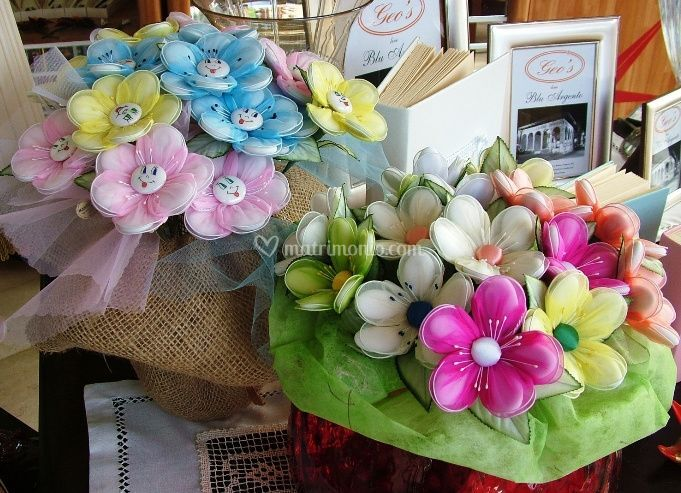 Bomboniere a forma di fiore