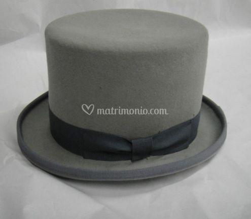 Cappello cilindro lapen grigio