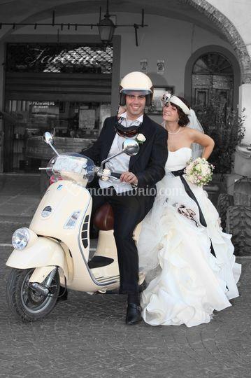 Matrimonio In Vespa : Fotografic foto video