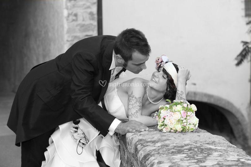 Sposi bicolore