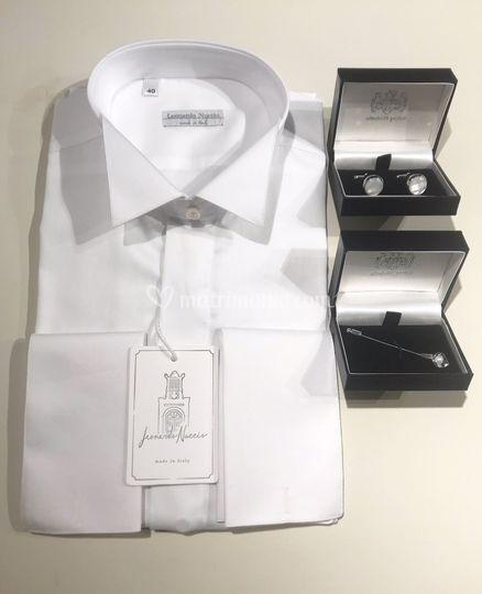 Coordinato camicia e accessori
