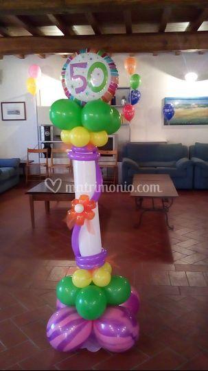 Composizioni palloncini