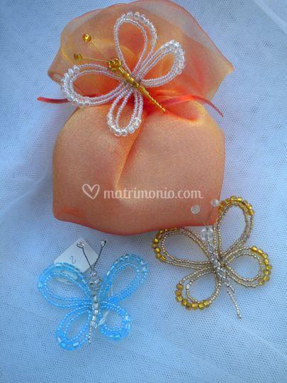 Farfalle di perle