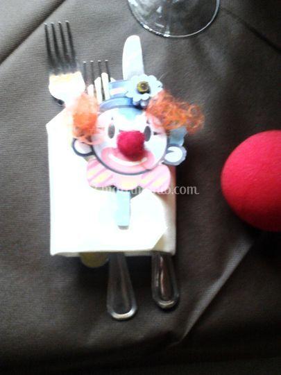 Segnaposto Clown