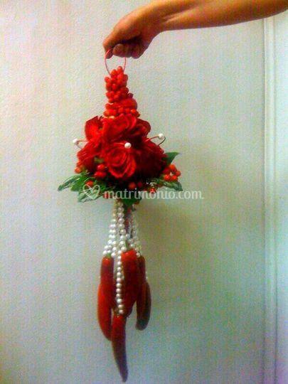 Bouquet sposa peperoncino