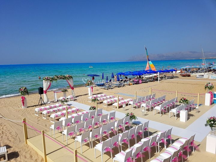 Matrimonio Spiaggia Alcamo : Hotel la battigia di foto