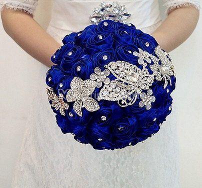 Mille fiori blu royal