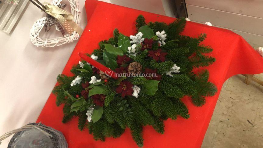 Centrotavola fresco natalizio