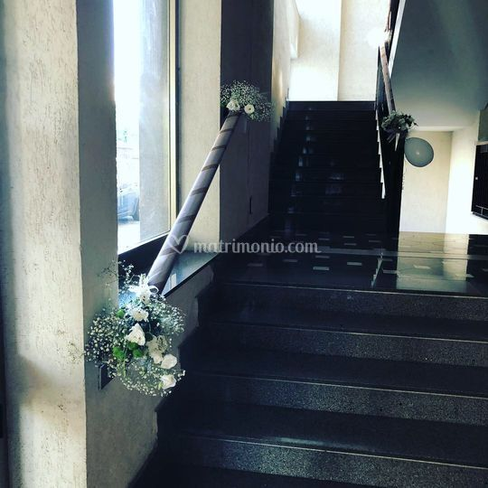 Scala della casa di una sposa