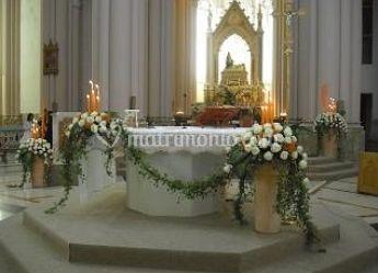 Addobbo per altare