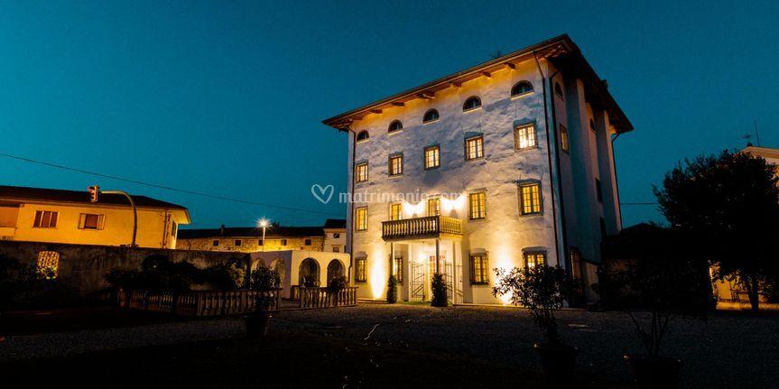 Villa Somma, notturno