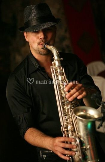 Sassofonista Eventi Matrimoni