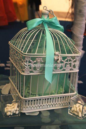 Confettata verde Tiffany
