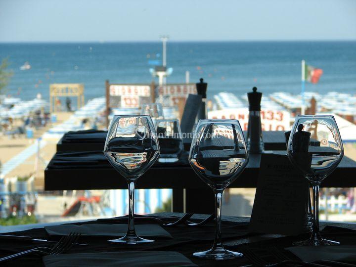 Tavolo con vista
