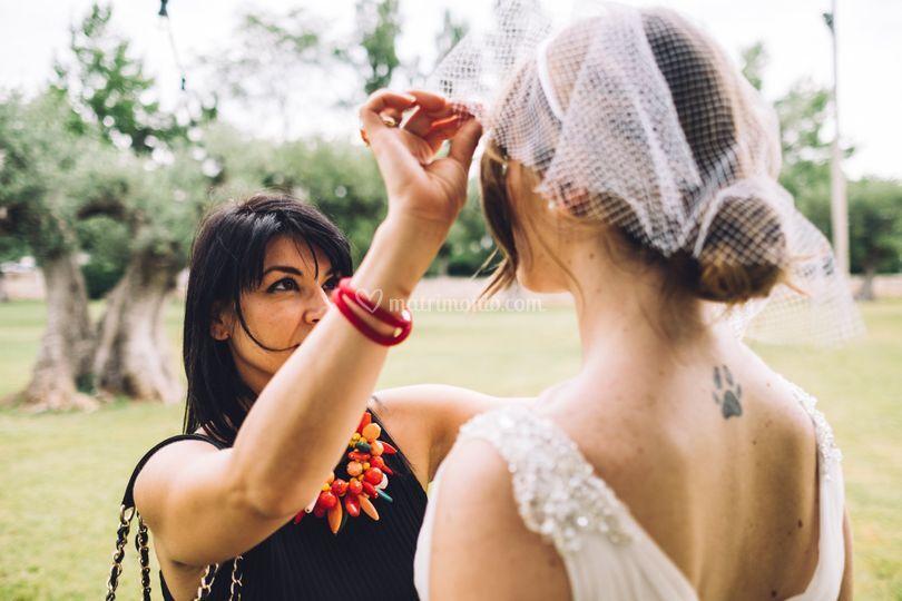 Il rapporto tra sposa e wp