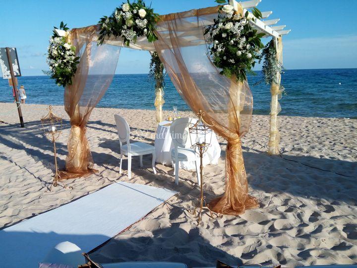 Gazebo Matrimonio Spiaggia : Next allestimenti