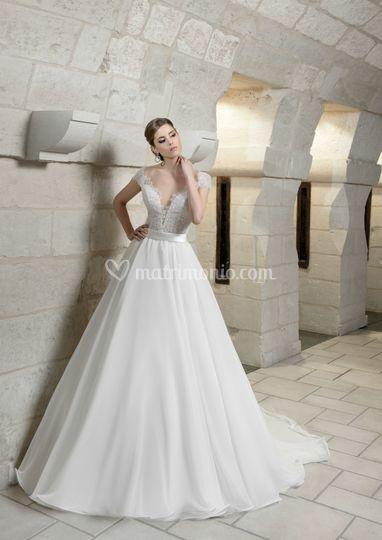 bd4c72407b8f Le Spose Di Maratana Sposa abito corpetto ricamato