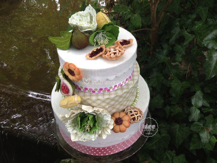 Cake box a tre piani