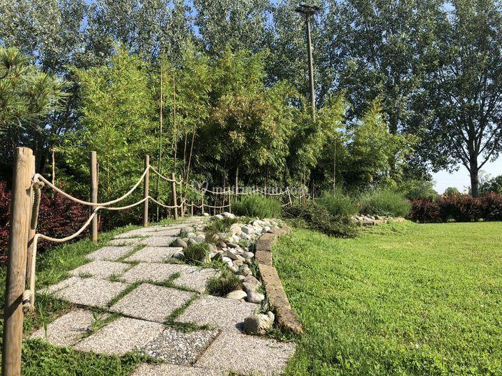 Passeggiatina in giardino