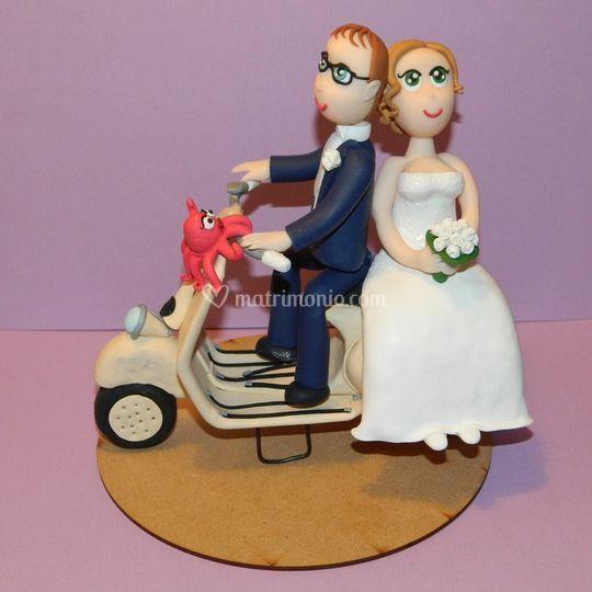 Sposi in vespa 2