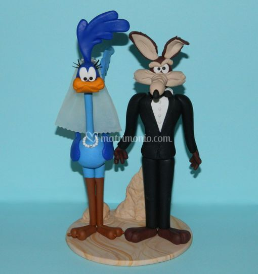 Cake topper Willy il coyote