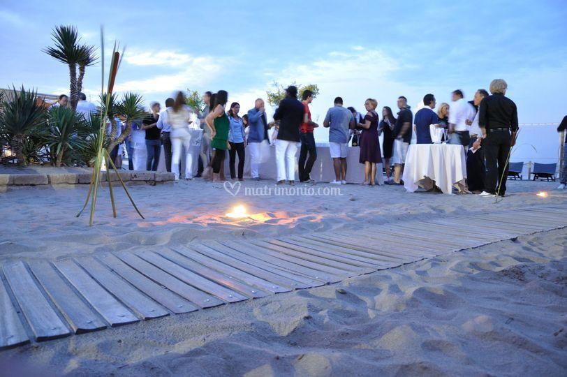 Party aperitivo spiaggia