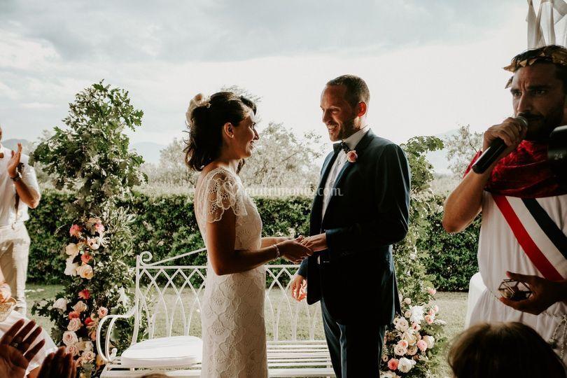 Decorazione matrimonio civile