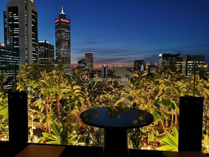 In hotel a Perth