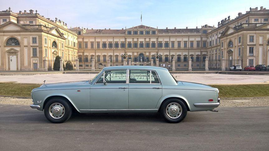The Queen.. Rolls Royce