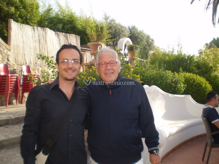 Con il M. Peppino Di Capri