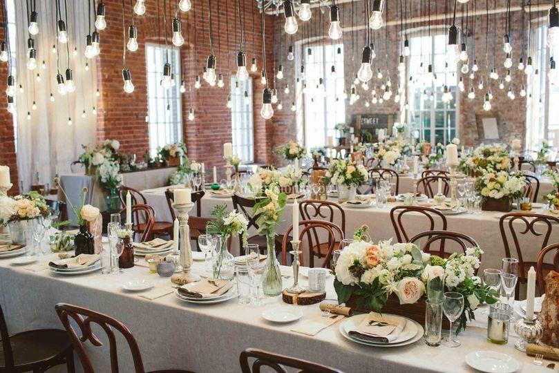 Matrimonio stile loft