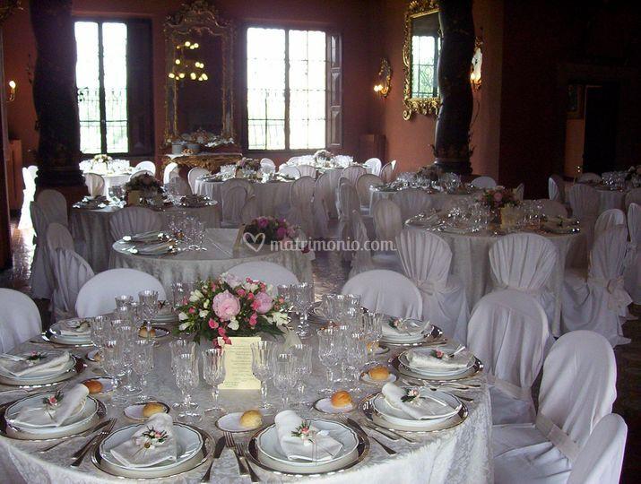 Allestimento Matrimonio Rustico : Allestimento rustico di sanzini foto