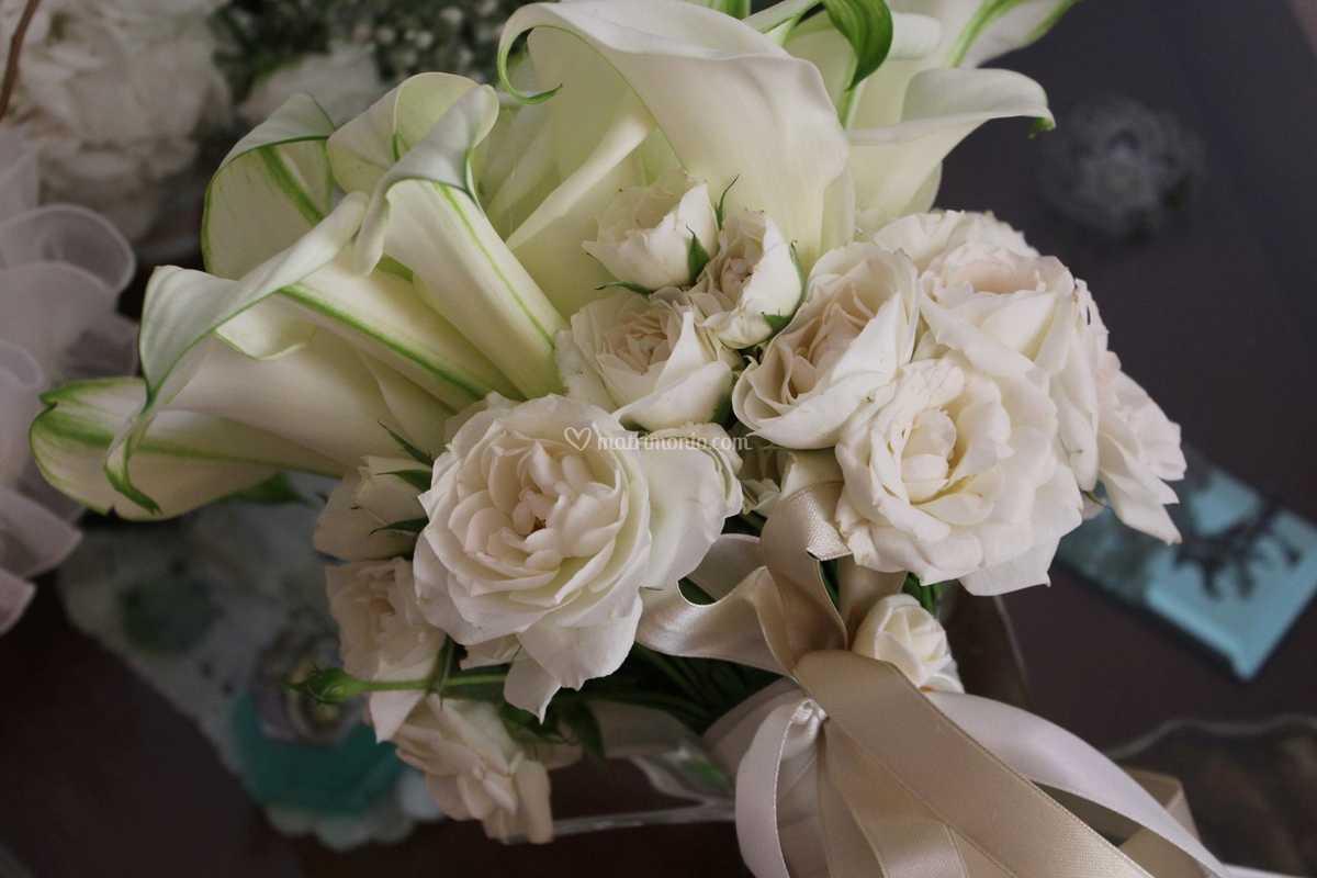 Bouquet Sposa Rose E Calle.Bouquet Sposa Calle E Rose Di Corflor Foto 37