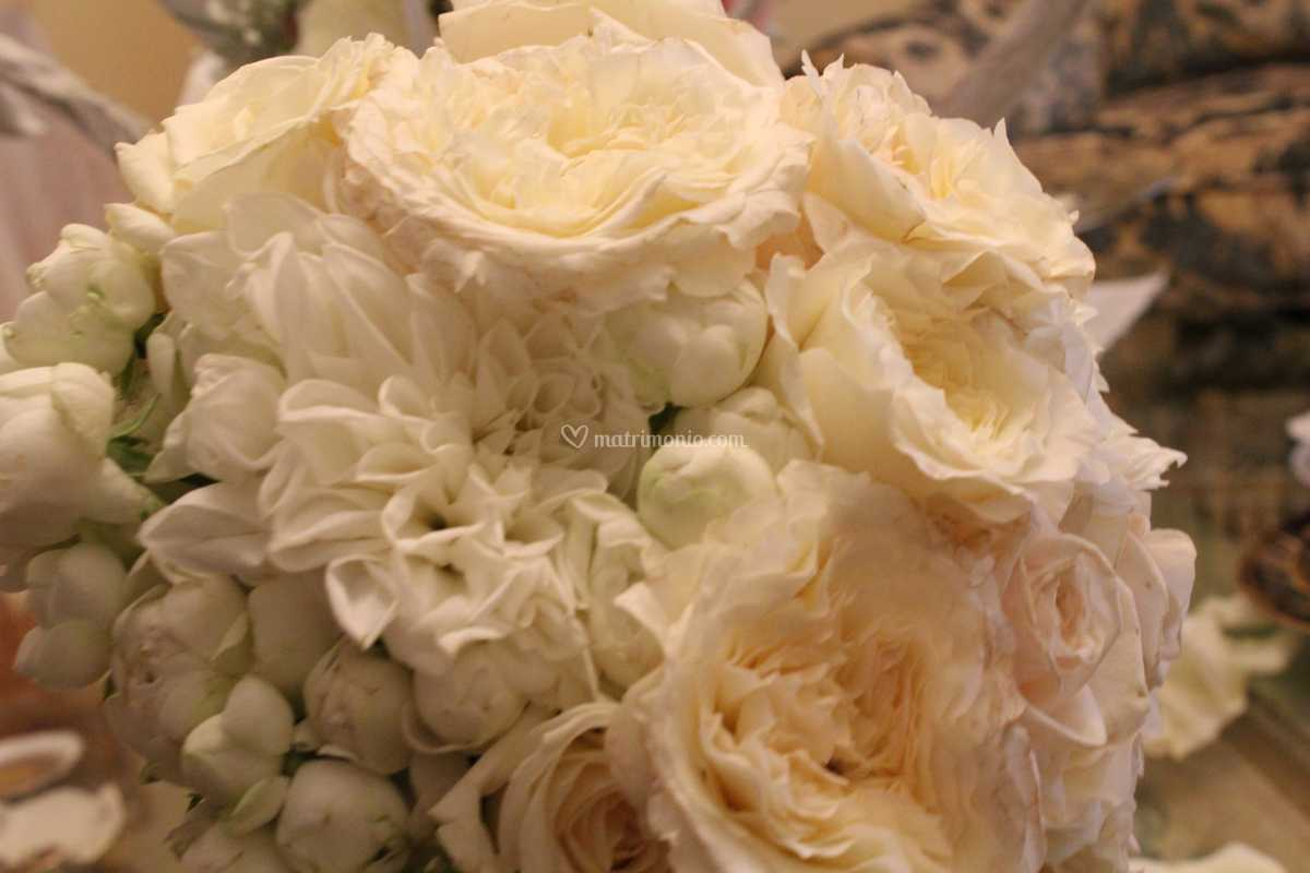 Bouquet Sposa In Inglese.Bouquet Da Sposa Rosa Inglese Di Corflor Foto 45
