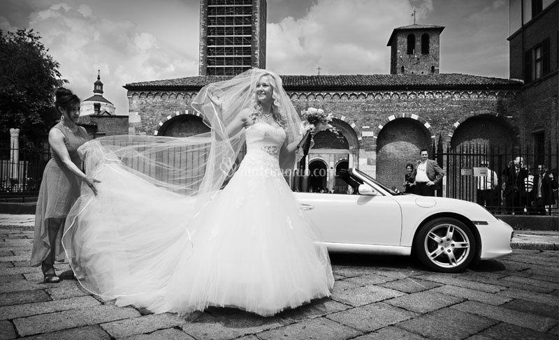 L'arrivo della sposa 2