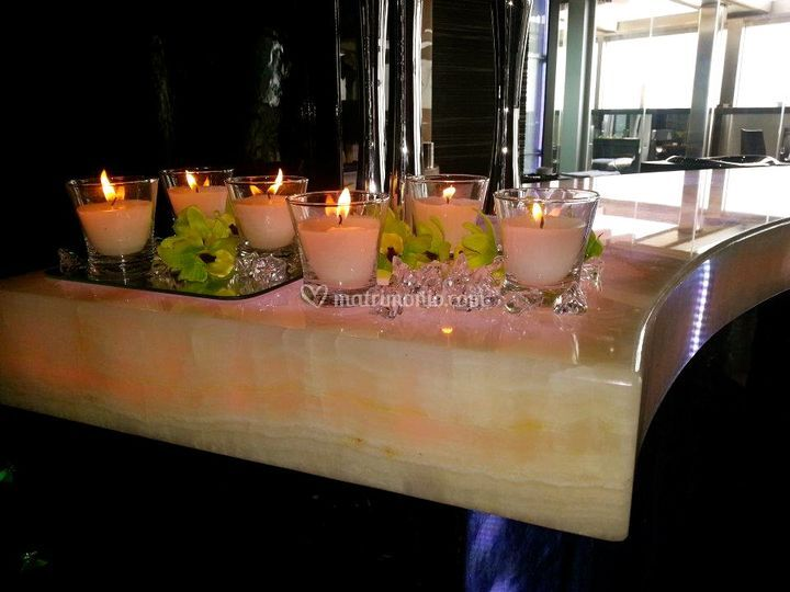 Allestimento candele