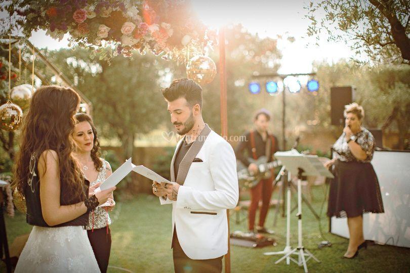 Wedding Glam Rock