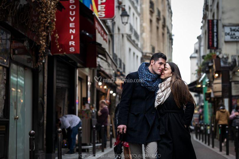 Engament in Paris