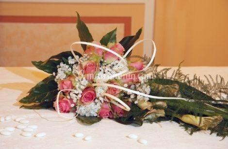 Composizione con fiori