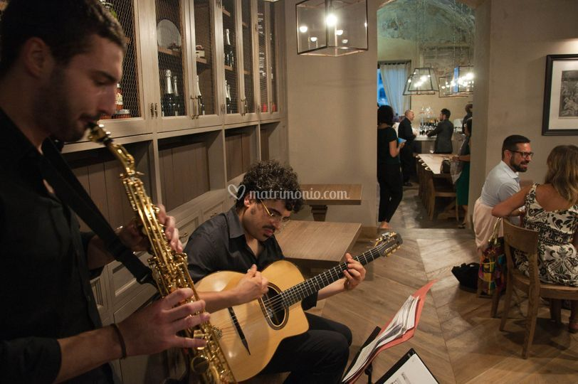 Matrimonio In Jazz : Duo jazz di matrimonio in musica foto