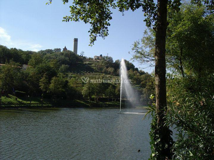La fontana ed il Lago