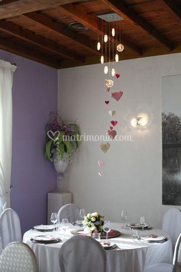 Mise en place rosa romantica