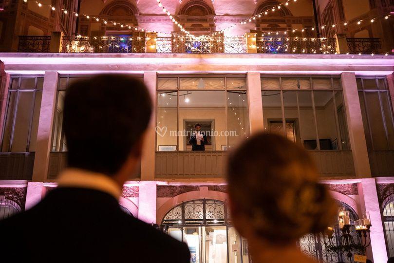 Matrimonio a Villa Nobel