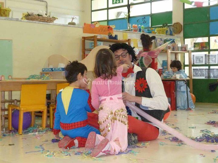 In una scuola materna.